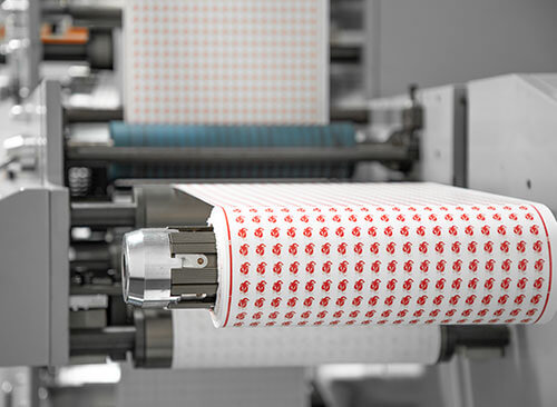 running paper straws flexo printing machine