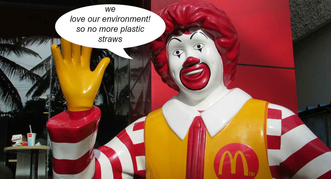 mcdonalds no more plastic straws