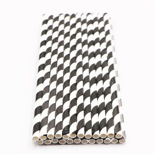 4 Layer Sturdy Biodegradable Paper Drinking Straws 1 1