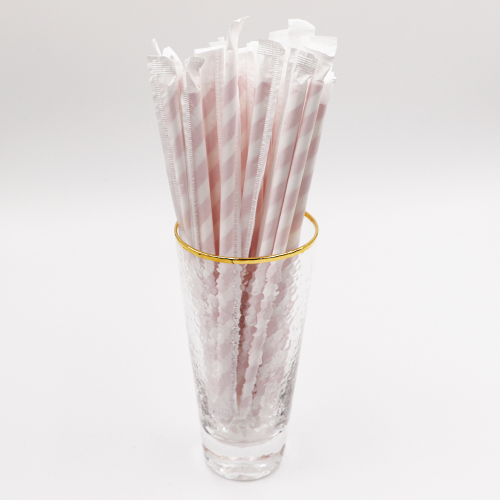 Biodegradable Paper Drinking Strip Straws 1