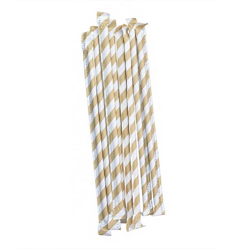 Biodegradable Paper Drinking Strip Straws 3
