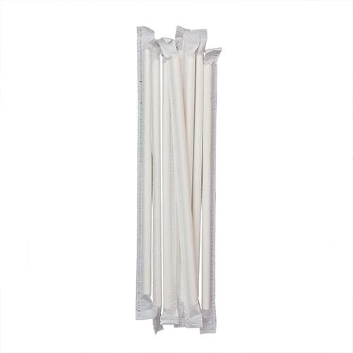Biodegradable Paper Drinking Strip Straws 4