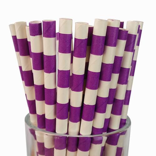 Classic Sailor Strip Jumbo Paper Straws 3 1